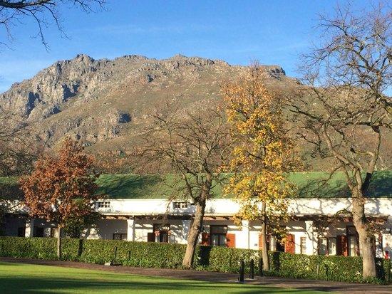 Lanzerac Hotel & Spa: Stupendous views