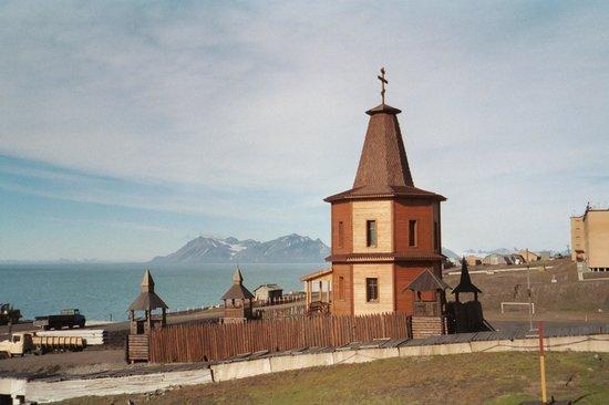 Barentsburg Pomor museum: Orthodox Chapel Barentsburg