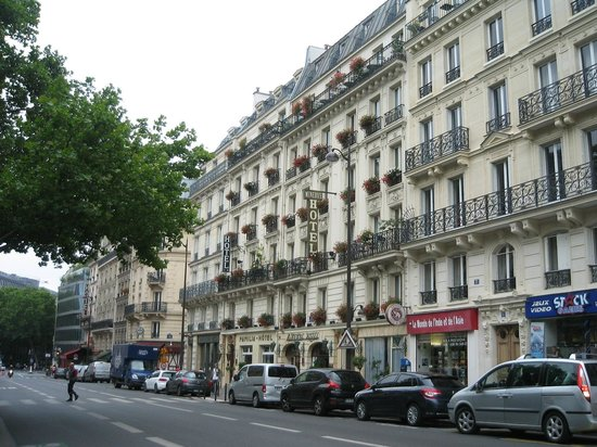 Familia Hotel: Hotellkvarteret