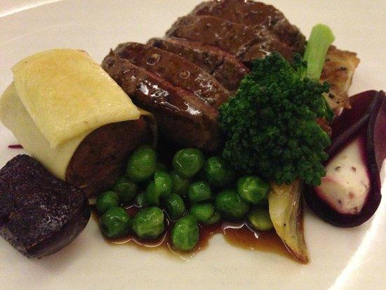 Mont Marie Restaurant: Springbok Loin