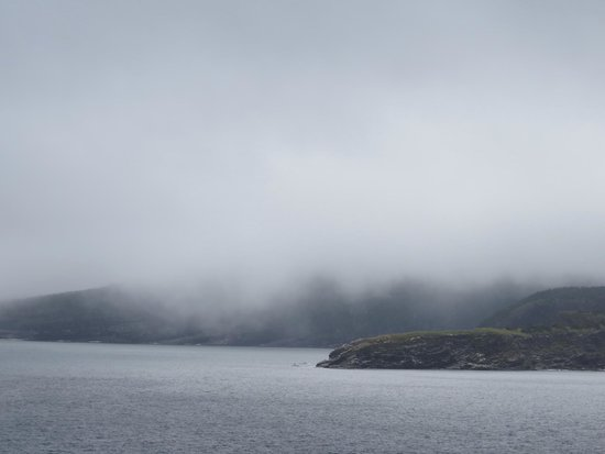 Fort Amherst Lighthouse: If you don't like the weather wait a few minutes : )
