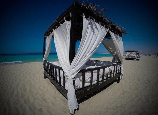 Jaz Almaza Beach Resort: La spiaggia