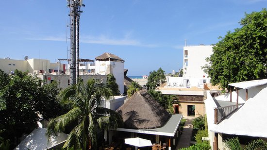Hotel Posada Sian Ka'an: private balcony