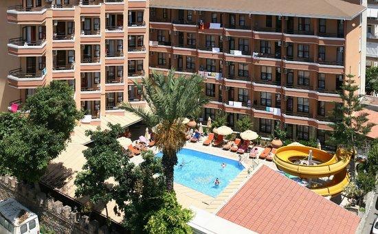 Fatih Hotel Kleopatra: Bina & Hvz