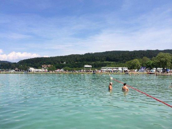 Seepark Hotel: Wörthersee lake