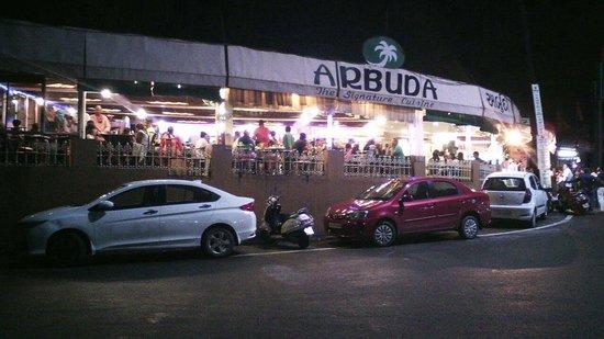 Arbuda Restaurant: The signature cuisine