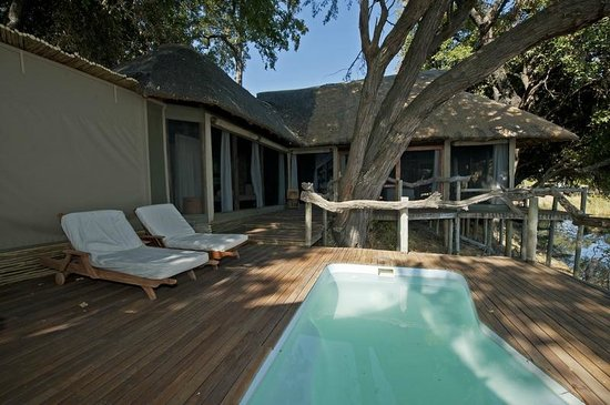 Wilderness Safaris Kings Pool Camp: Plunge pool by the room