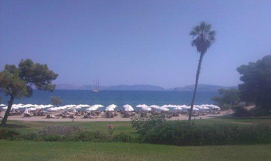 Barcelo Hydra Beach Resort : metà spiaggia