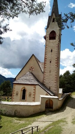 Hotel Digon: chiesa di S. Giacomo Ortisei
