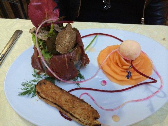 Vorspeise photo de la table d 39 emilie marseillan - Restaurant la table d emilie marseillan ...