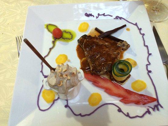 Hauptgang foto van la table d 39 emilie marseillan - Restaurant la table d emilie marseillan ...