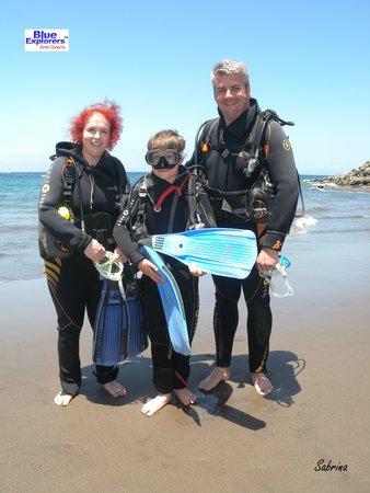 Blue Explorers: Team Scotland
