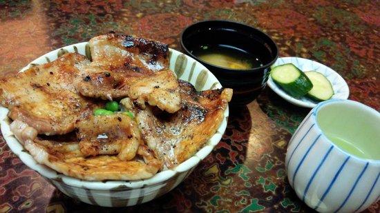 Hageten : 豚丼