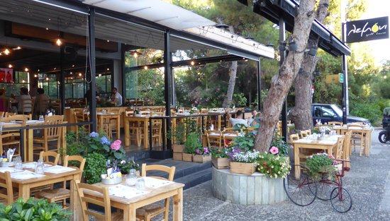 Lemoni Grill House: outdoor view