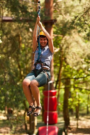 Obstacle Course and Adventure Park: trasa średnia