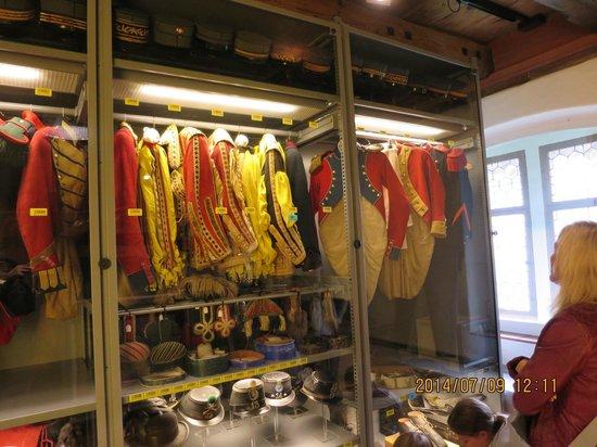 Natur-Museum Luzern: 軍服