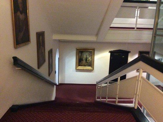 Eden Hotel Wolff: corredores