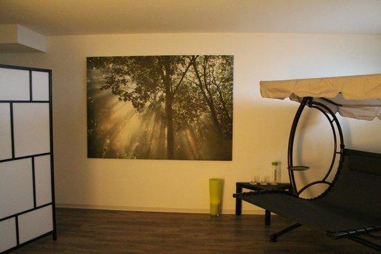 Action Forest Active Hotel: Unser Ruheraum mit Infrarotkabine