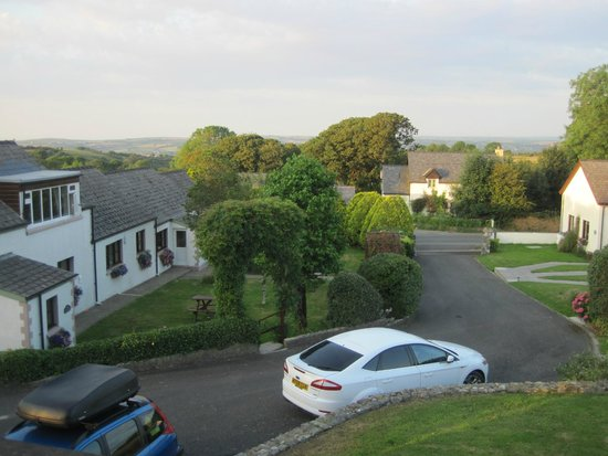 Trenewydd Farm Cottages: View from front bedroom