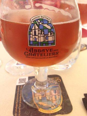 Aux Tours De La Perot (Maître Restaurateur) : Biere locale