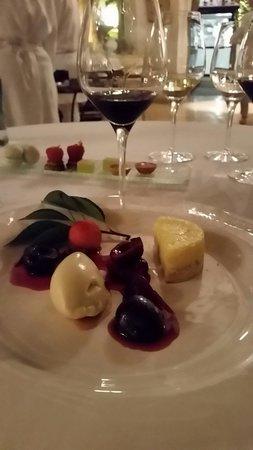 Restaurant Edouard Loubet** : 1er petit dessert