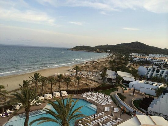 Hard Rock Hotel Ibiza: view from room