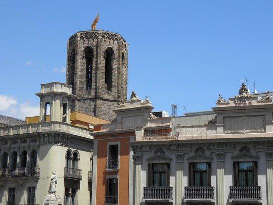 Hostal Mare Nostrum: vue du balcon