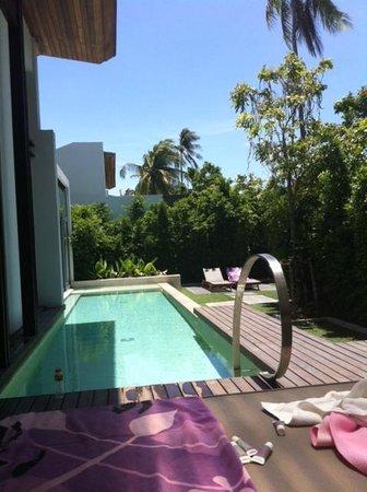W Retreat Koh Samui: Our pool