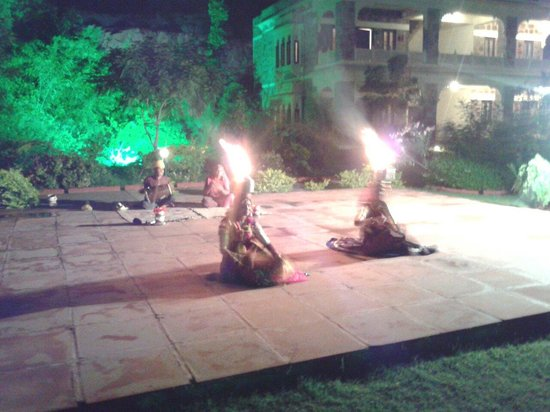 The Udai Bagh: Entertainment by folk group.