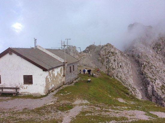 Alpengarten Patscherkofel: vista do topo