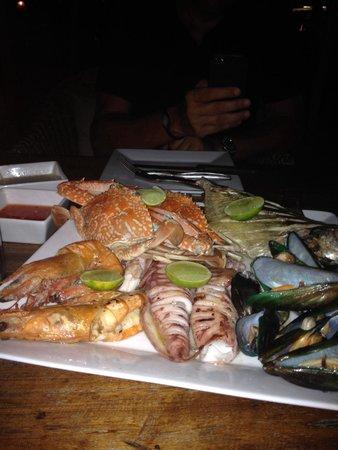 Fisherman's Restaurant & Bar: Grigliata di pesce