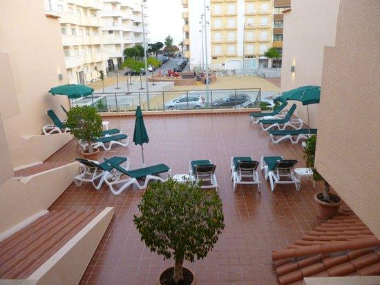 Casablanca Inn: View from room 215