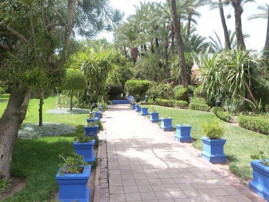 Hotel Marrakech le Semiramis : Extérieurs