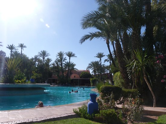 Hotel Marrakech le Semiramis : Piscine
