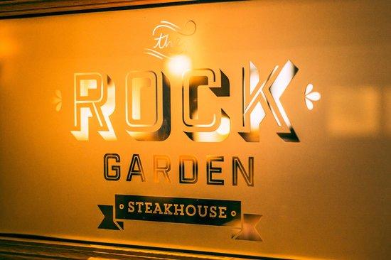 The Rock Garden: logo