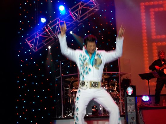 Clay Cooper Theatre: Elvis is in the groove.
