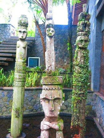 Chapung SeBali Resort and Spa: Hotelgelände