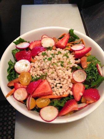 Agora Mediterranean Kitchen: Kale and Broccoli Salad