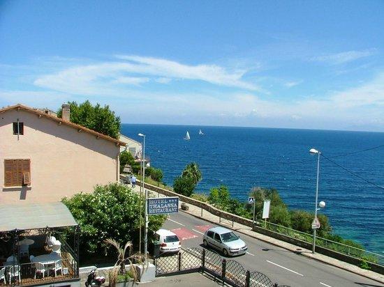 Thalassa Hotel : vista dalla camera