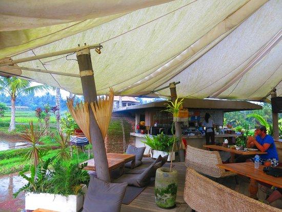 Chapung SeBali Resort and Spa: Cafe Pomegranate