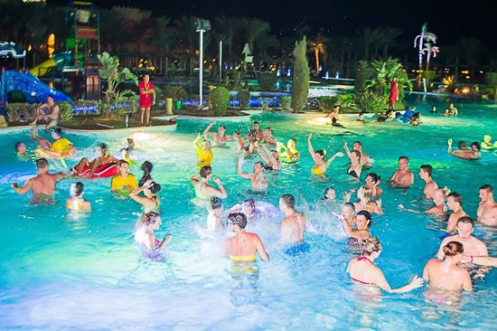 Albatros Palace Resort: pool party