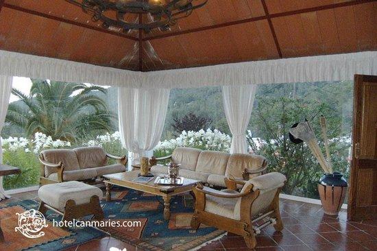 Hotel Rural Can Maries: salon
