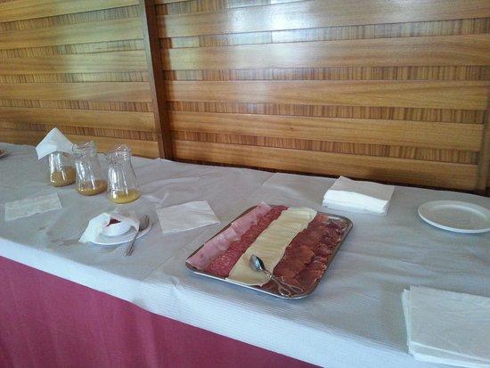 Villages Golf Panoramica: El desayuno. Insultante.