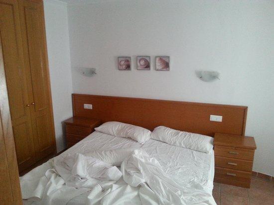 Villages Golf Panoramica: Las dos camas del dormitorio
