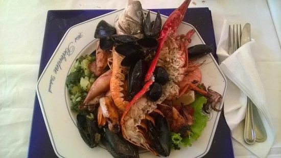 Restaurant Antunini: plat de poissons