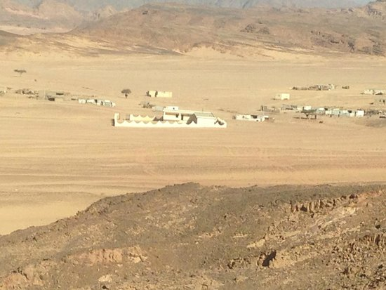 Mount Sinai: A Bedwin Village - with a school built by the government