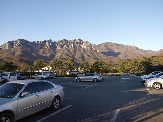 Delpino Golf & Resort: mountain view outside resort