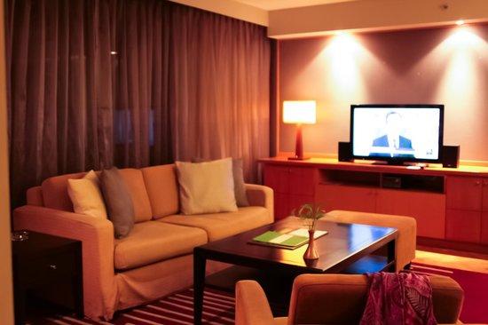 Chatrium Residence Sathon Bangkok : living area