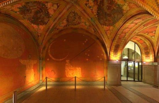 Zurich, Switzerland: Giacometti-Halle