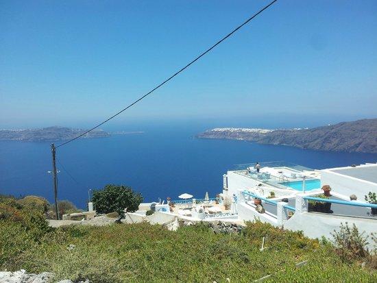 Kasimatis Studios Hotel: Panorama dall'hotel